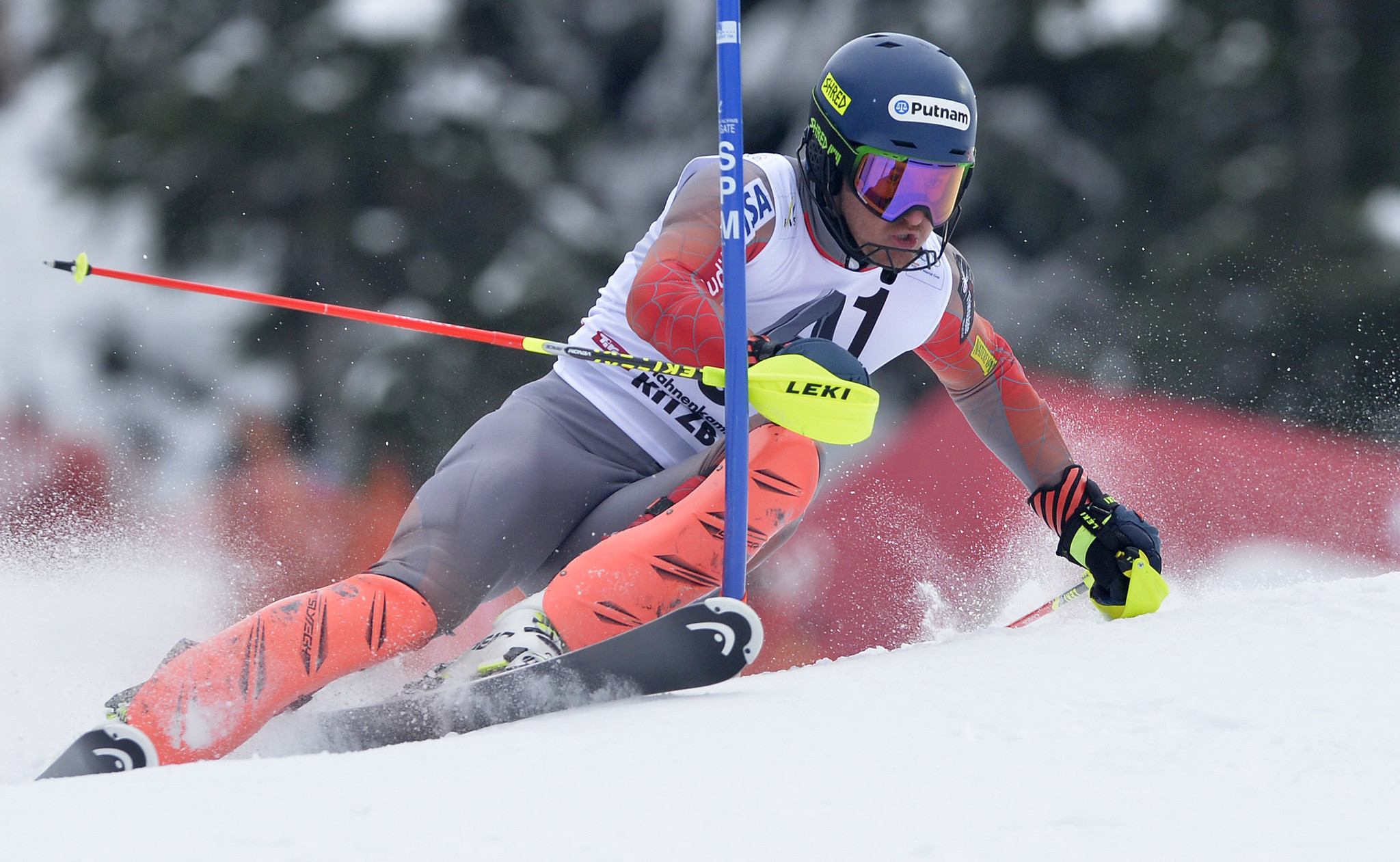 Olympic Skiing Champion Ted Ligety Injures Knee In