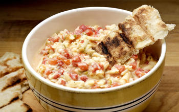 Southern pimiento cheese appetizer