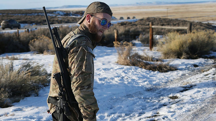 Where was the FBI during the armed standoff in Oregon? Out of sight, but listening and watching