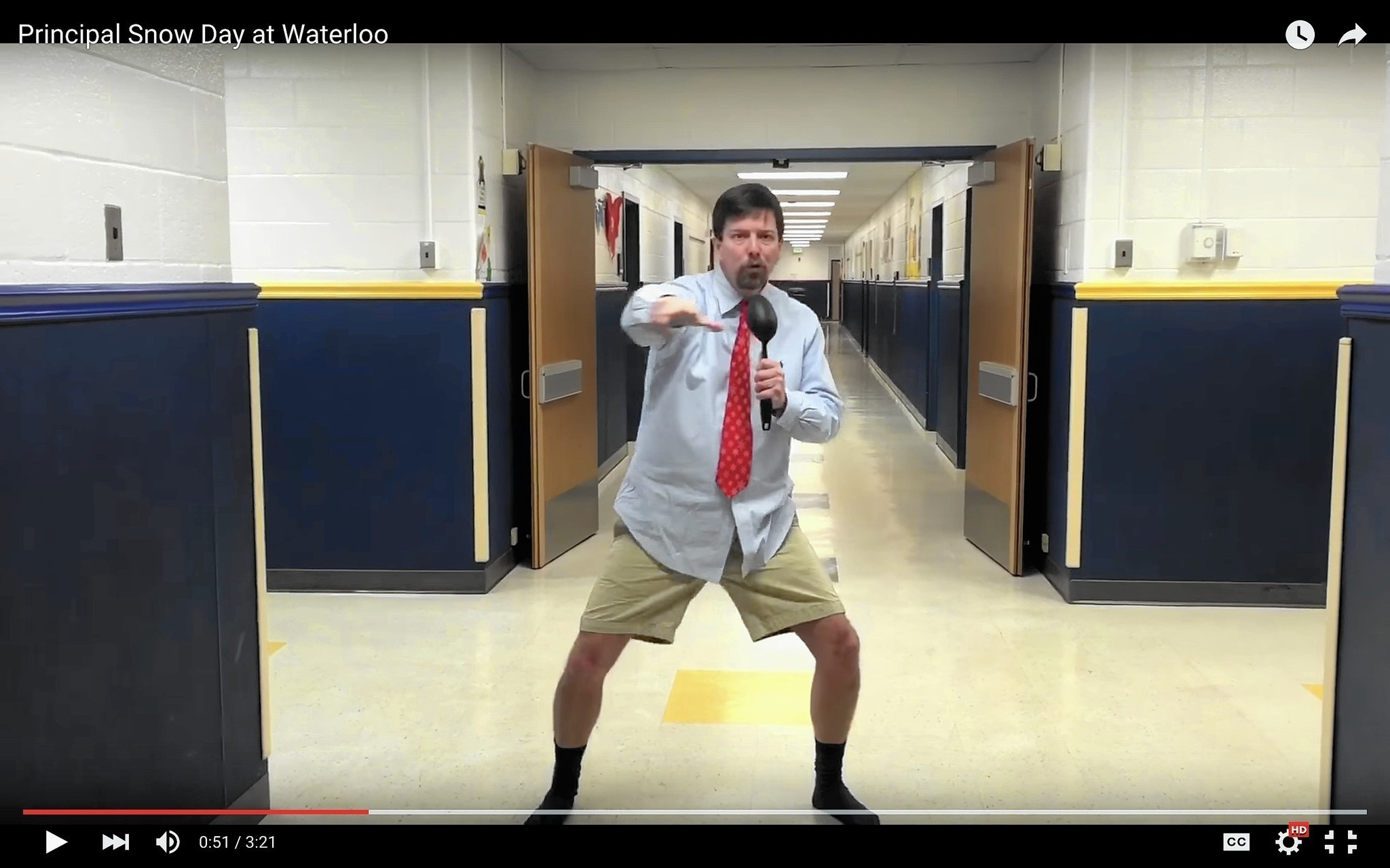 Waterloo Elementary Principals Snow Day Video Is Viral