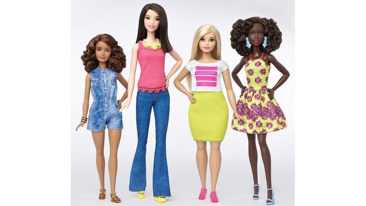 Barbie body types
