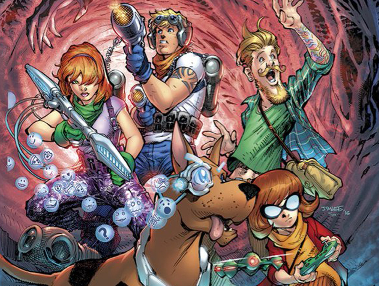 Dc comics reboots hanna barbera with a whole new look for - Race de scooby doo ...