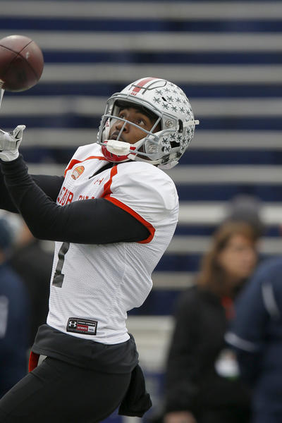 Braxton Miller flashes a ton of potential at WR during Senior Bowl