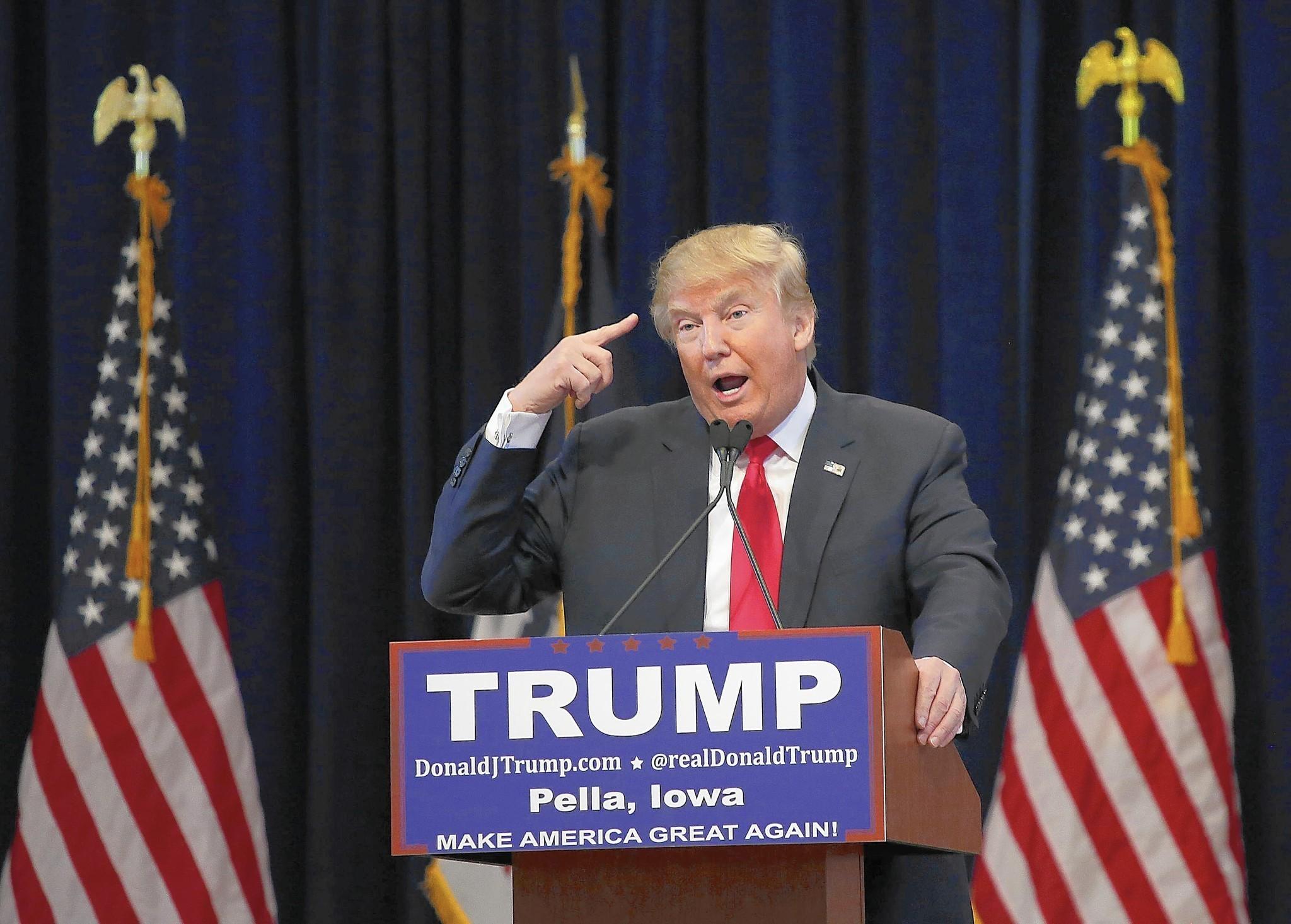 Трамп надеется в случае победы на выборах иметь хорошие отношения с Путиным - Цензор.НЕТ 504