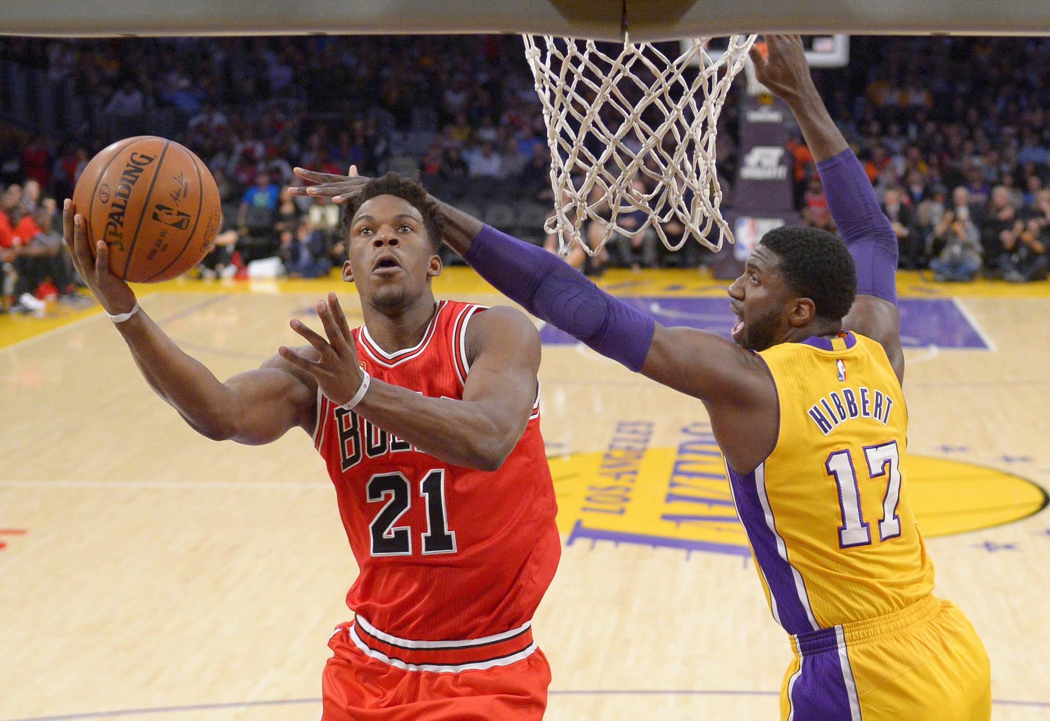 Jimmy Butler, Pau Gasol and Derrick Rose dismantle Lakers 114-91