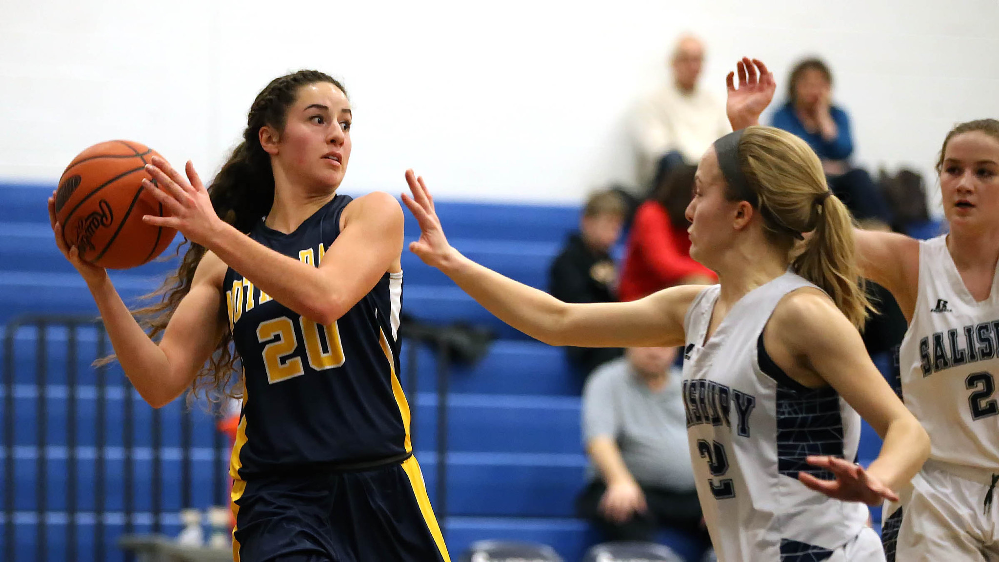 PICTURES: Notre Dame at Salisbury girls high school basketball - The Morning Call