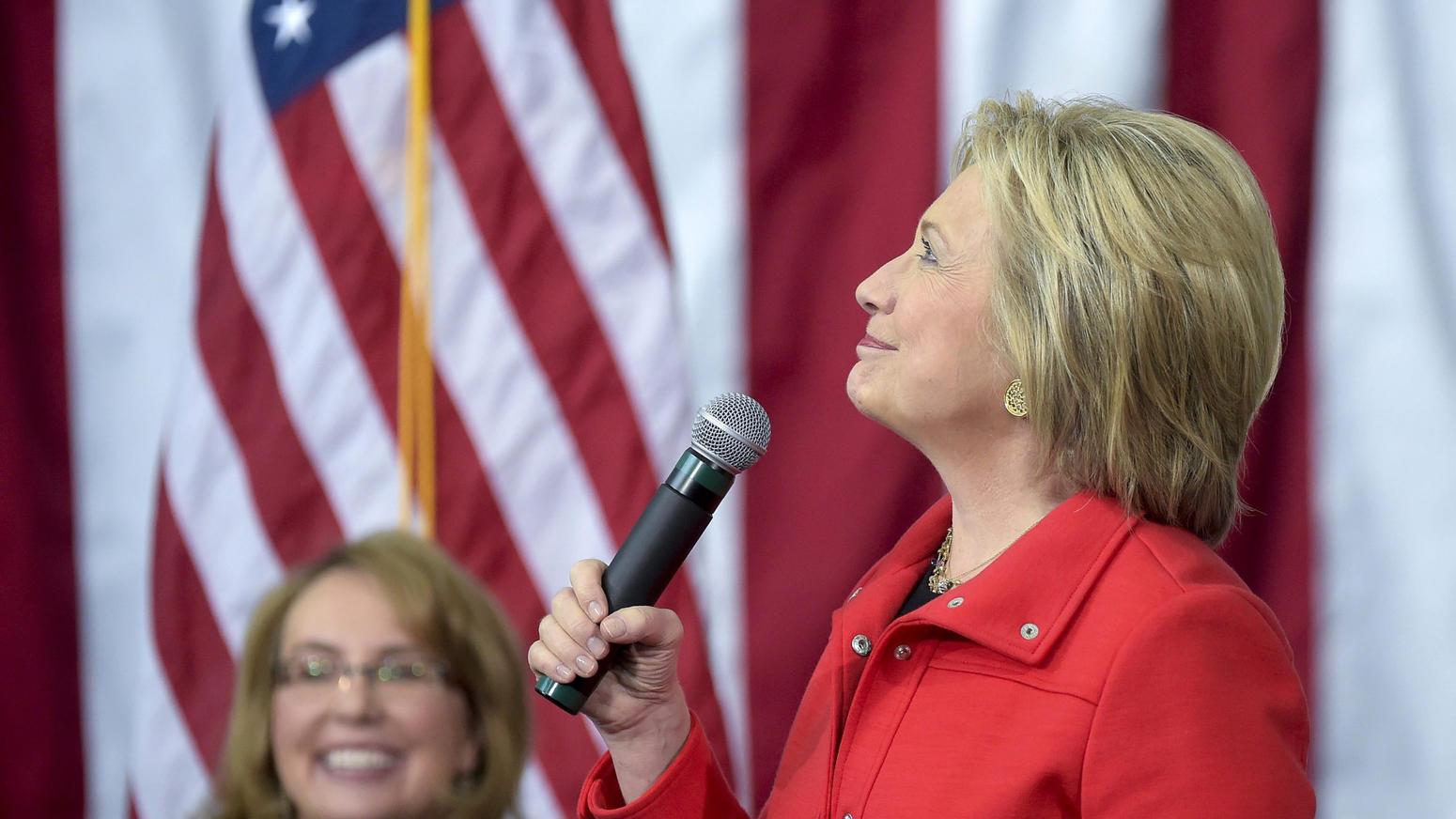 Hillary Clinton, Gabrielle Giffords