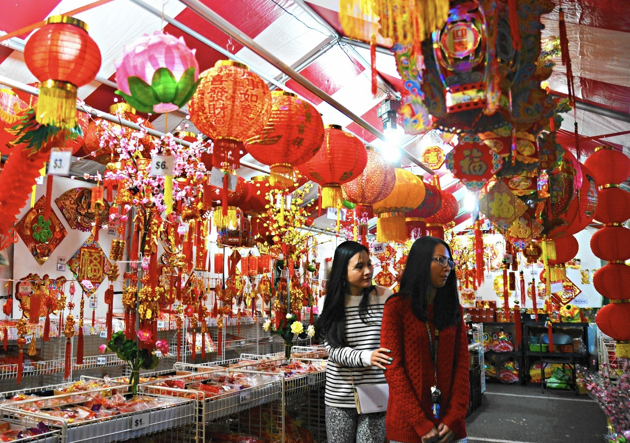 Looking for signs of a good Lunar New Year Weekend