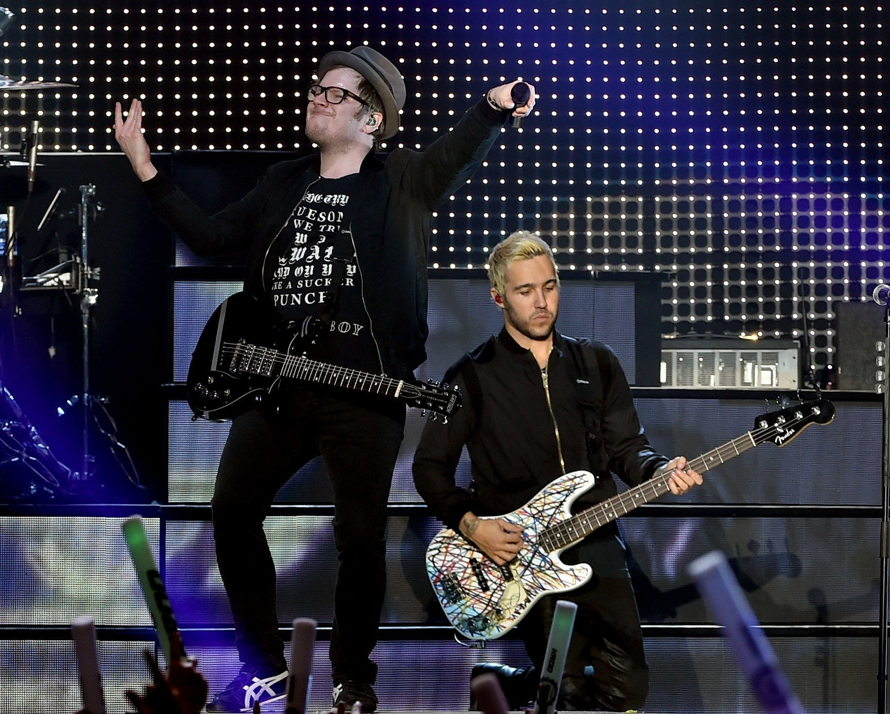fall out boy added to music filled super bowl week chicago tribune - Fall Out Boy Christmas