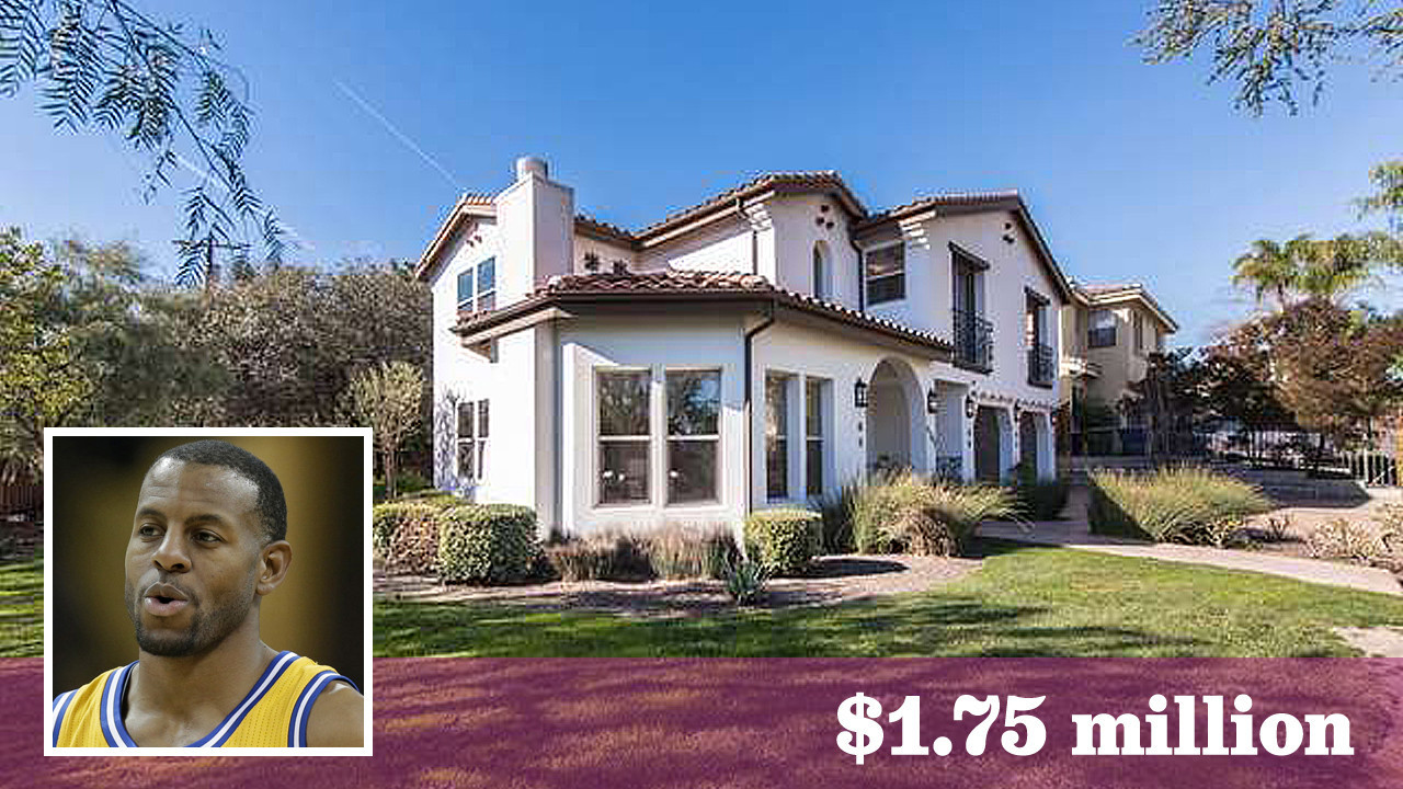 The golden state warriors 39 andre iguodala lists his l a for Homes by andre