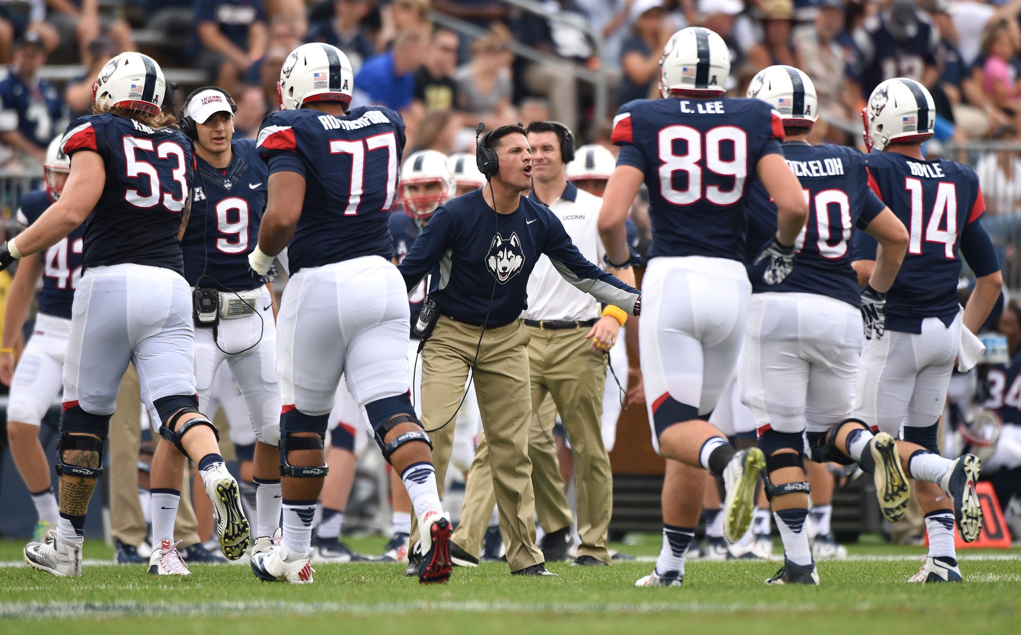 standing by their commitment means a lot to uconn football