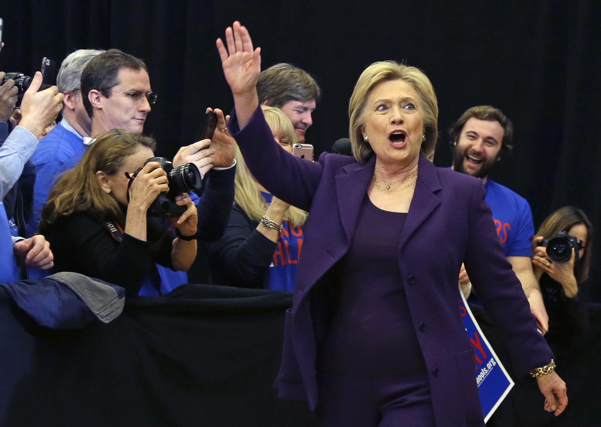Hillary Clinton wins Iowa, campaigns turn to New Hampshire