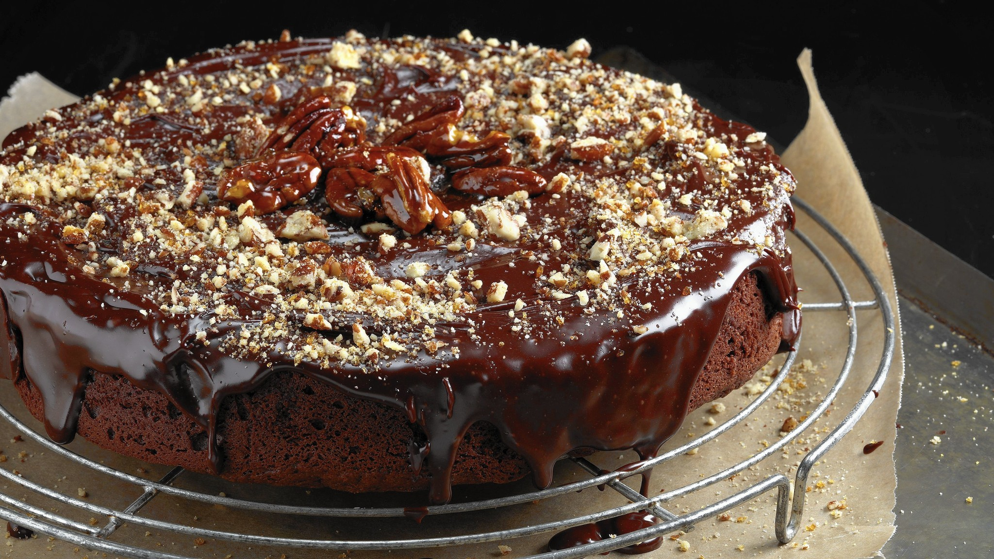 Almost perfect chocolate cake gets a little better