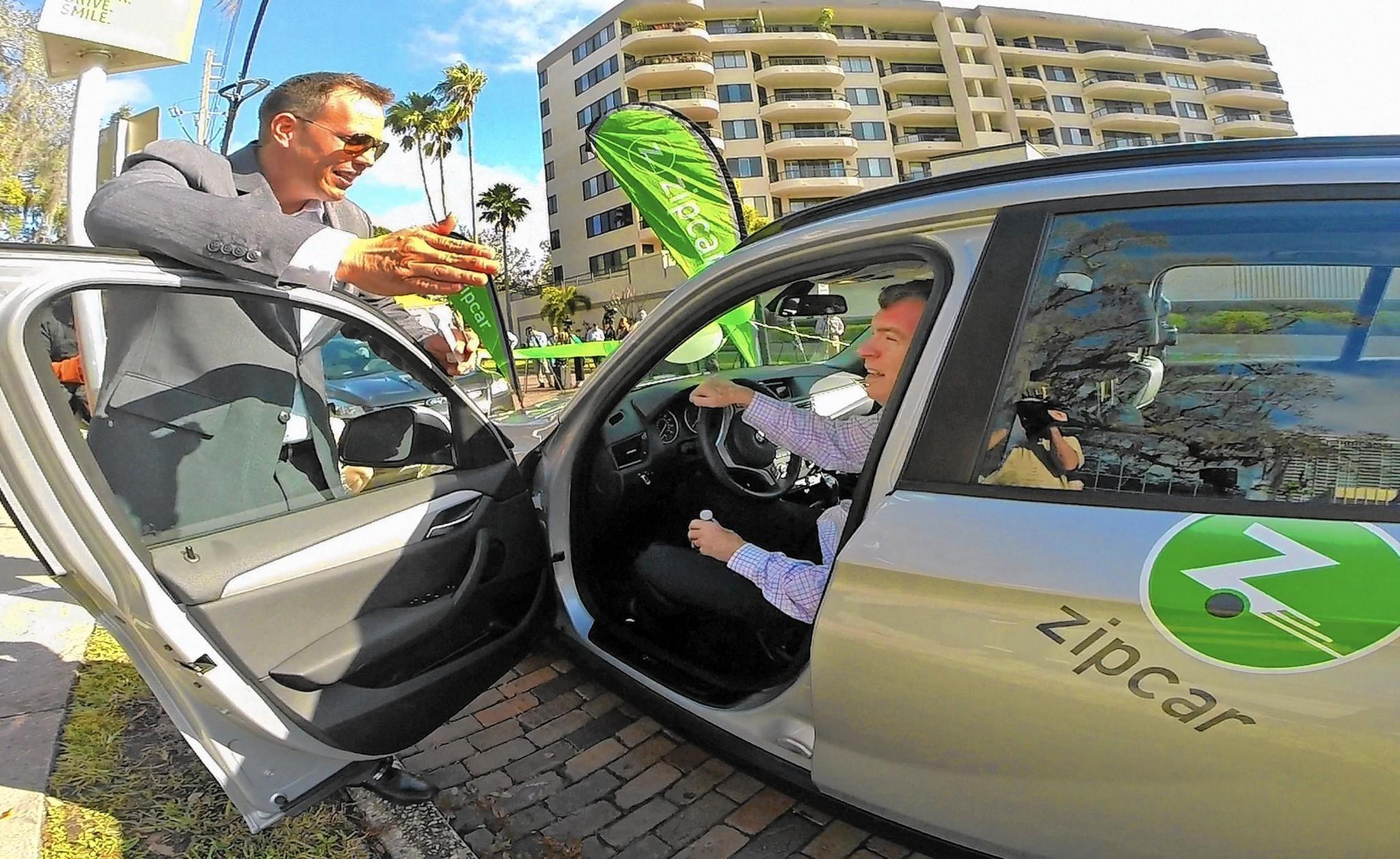 Orlando, Winter Park unveil new car-share program - Orlando Sentinel