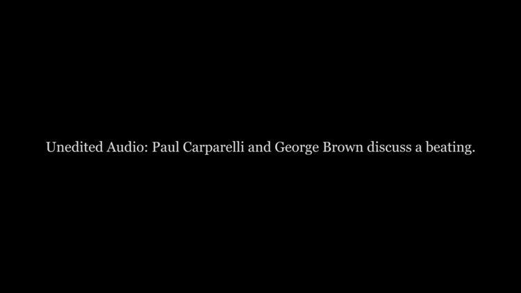 Unedited Audio: Paul Carparelli and George Brown discuss beating
