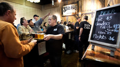 With Cheers And Beers, Another Microbrewery Opens