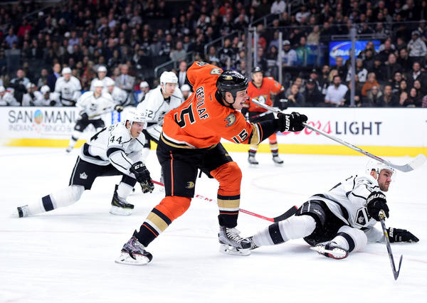 A Goal Lifts A Weight Off Ryan Getzlaf And The Ducks