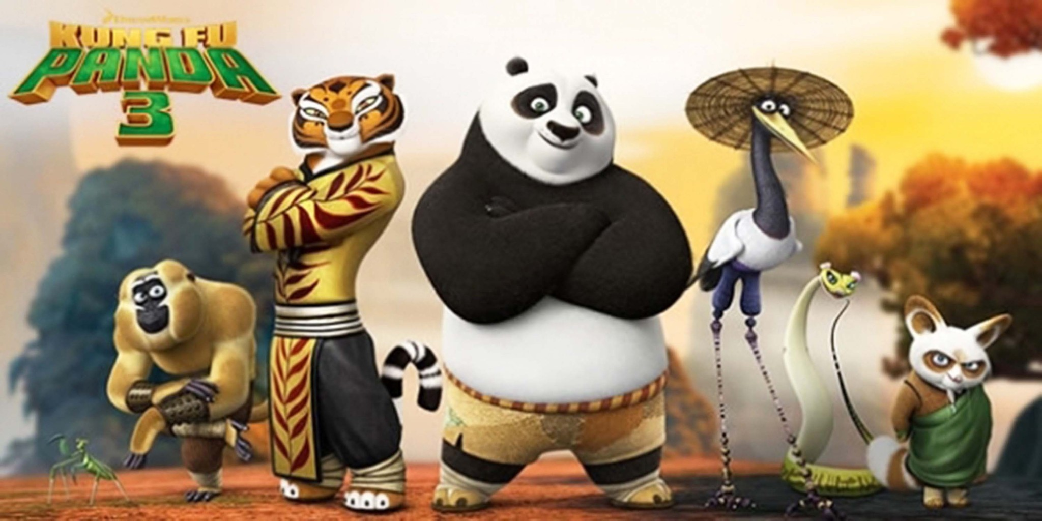 movie review: `kung fu panda 3,¿ upbeat but intense sequel looks at