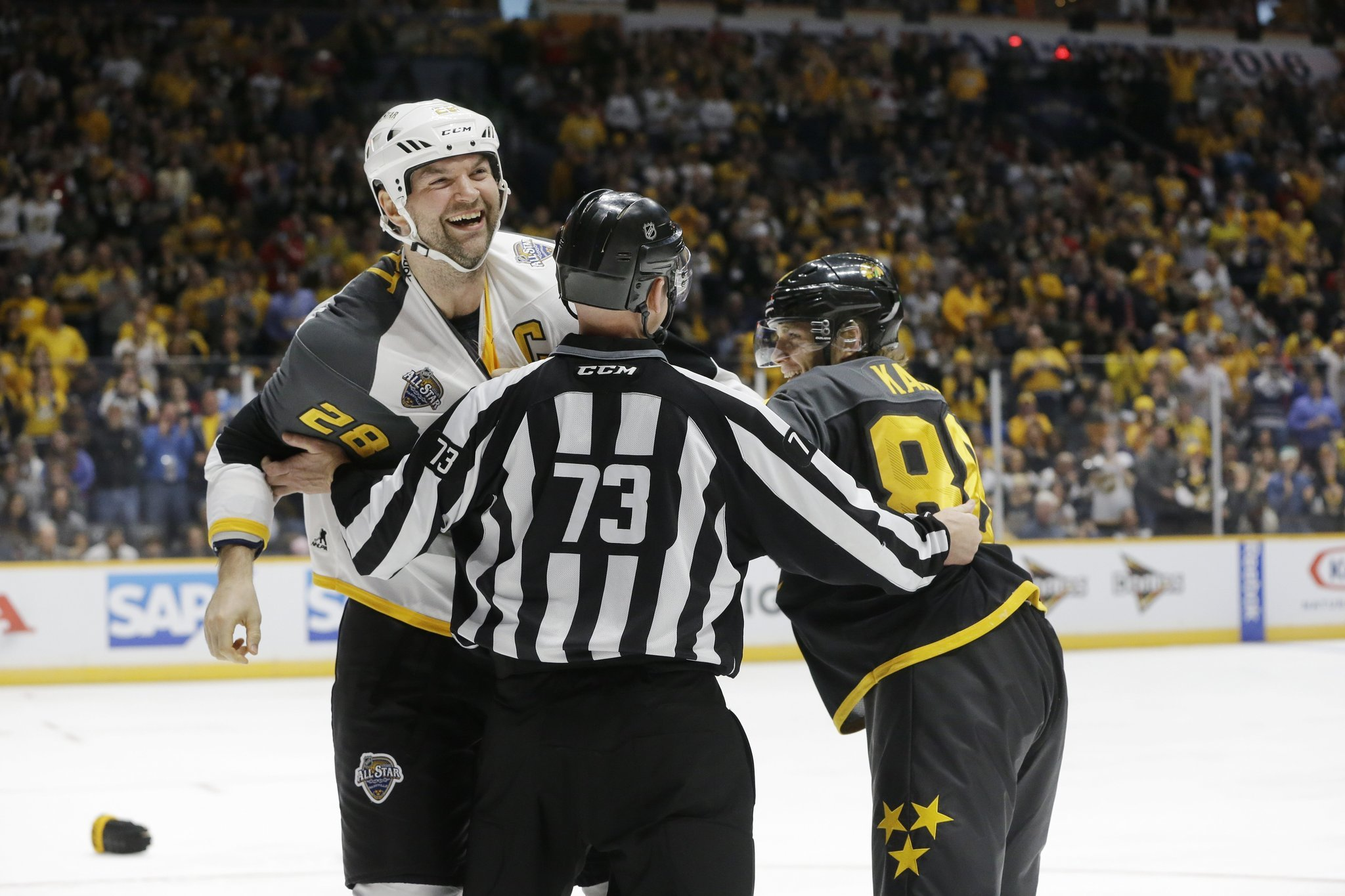 nhl fighting As the controversy of fighting in hockey grows, sportmedbc's safety coordinator seb hartell gives us his thoughts about on ice safety and how things can improve.