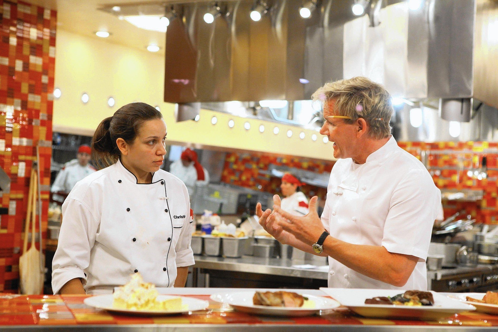 Restaurant Kitchen Chefs back in 'hell's kitchen': phillipsburg's christina wilson returns