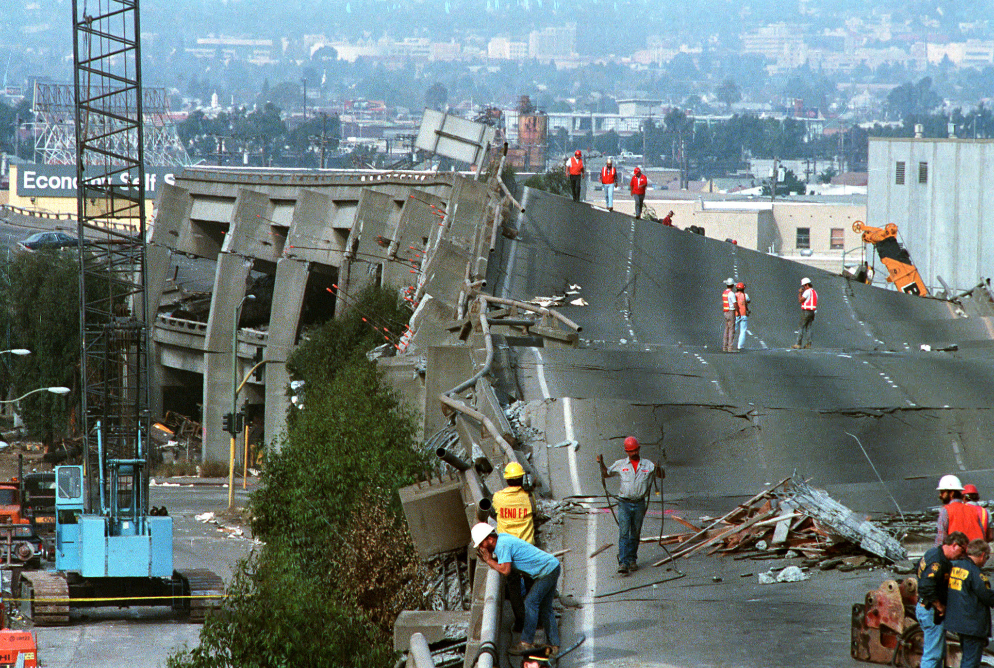 Image Gallery los angeles earthquake