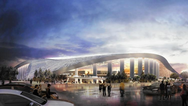 The real challenge for Los Angeles' new football stadium is everything around it