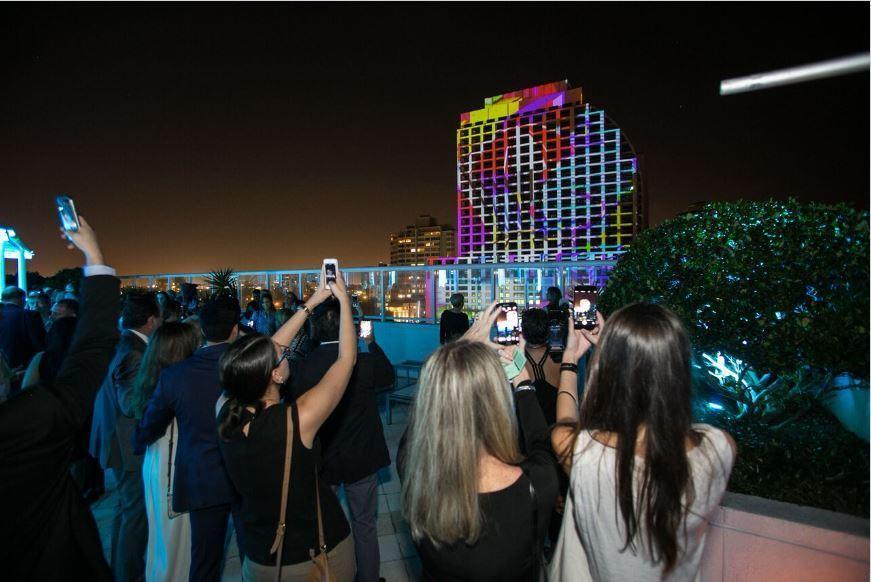 3D Light Show 3d light show spotlights soon-to-open conrad fort lauderdale