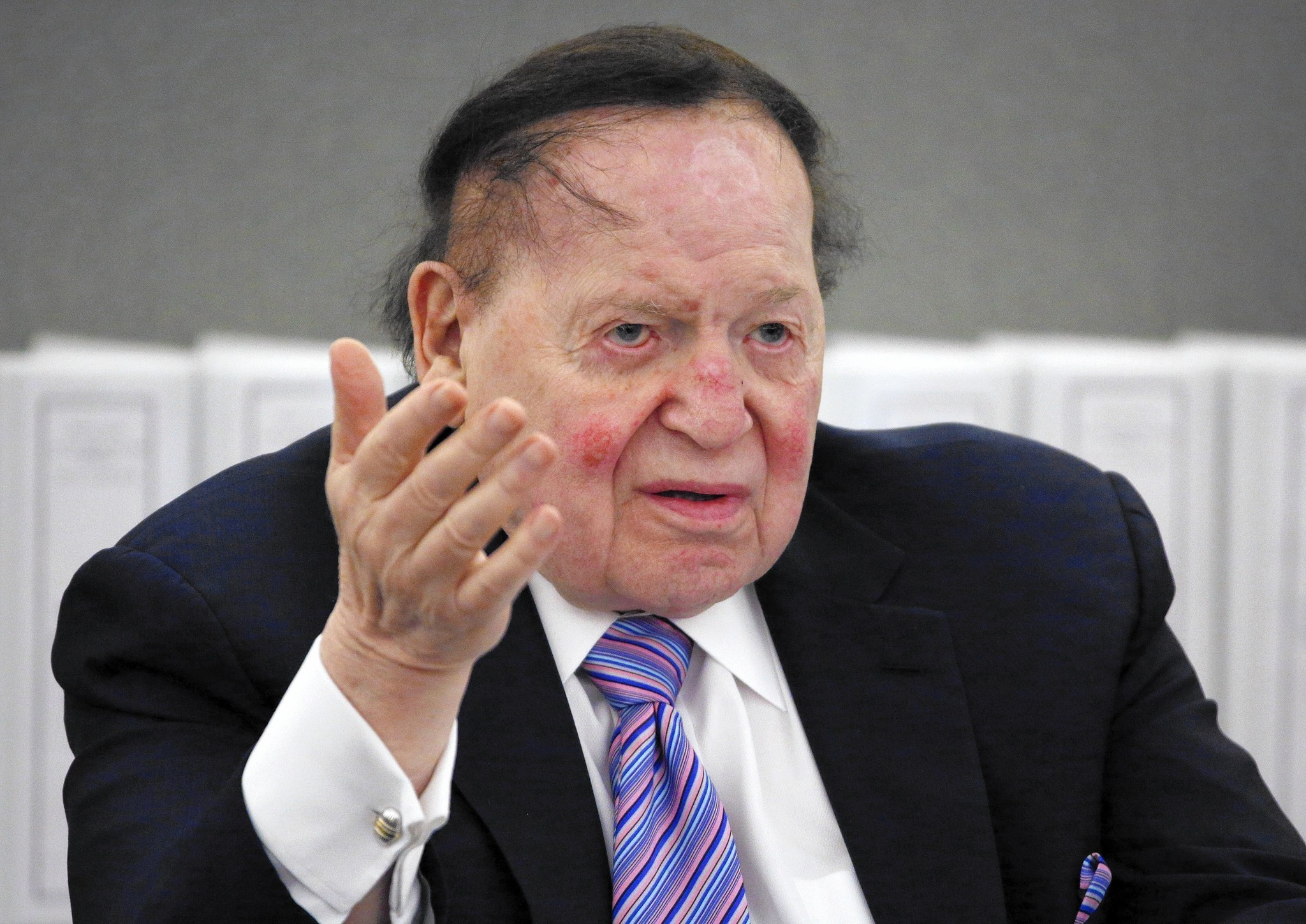 Image result for PHOTOS OF ADELSON OR WYNN