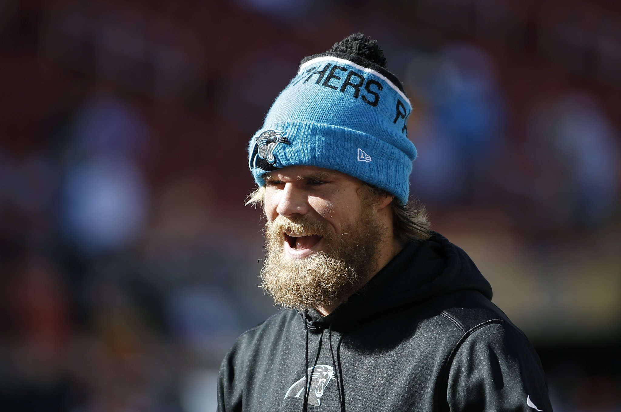 Panthers Greg Olsen shaves beard All good things must e to