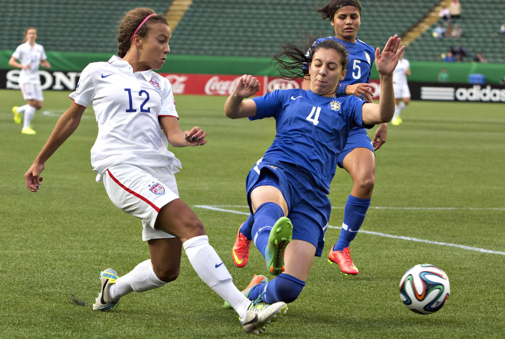 Young U.S. women's soccer team to play Costa Rica in ... Soccer