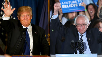 New Hampshire primary winners, losers