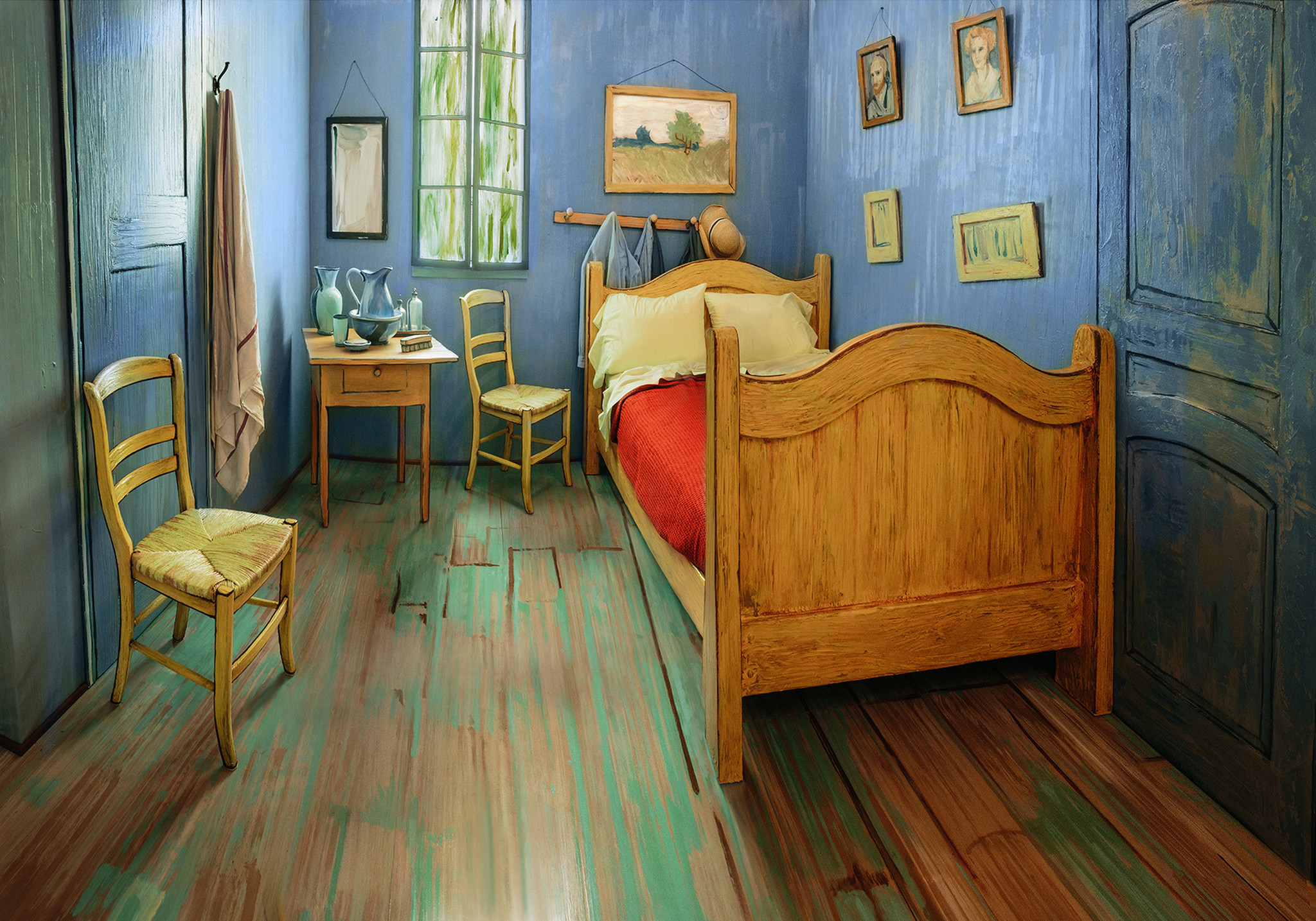Attractive U0027Van Goghu0027s Bedroomsu0027 At Art Institute Show Artistu0027s Quest For Home    Chicago Tribune