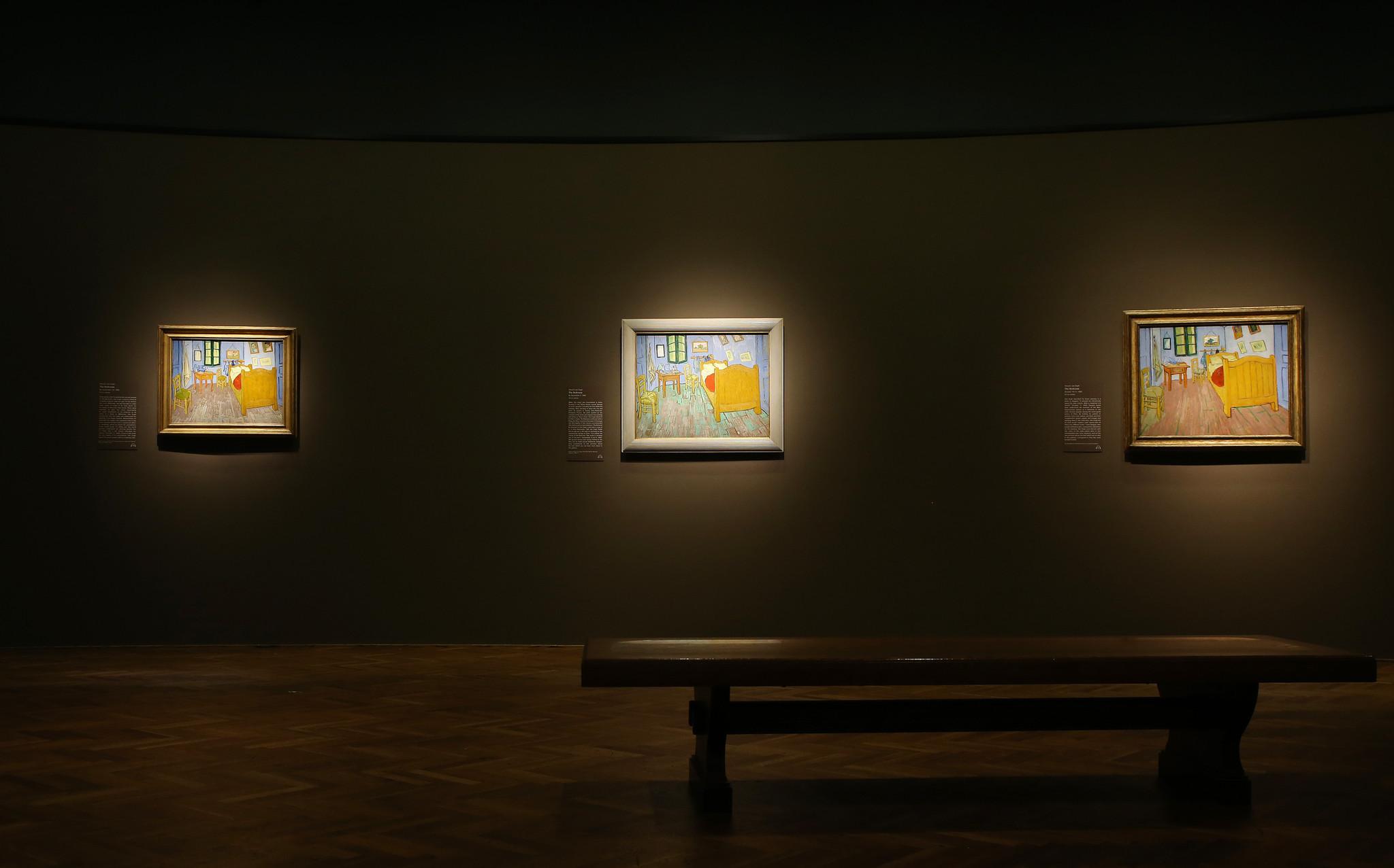 van gogh's bedrooms' at art institute show artist's quest for home