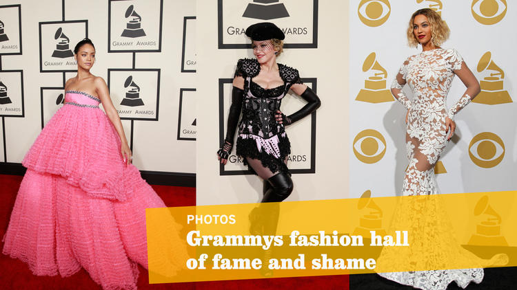 Grammys fashion hall of fame and shame