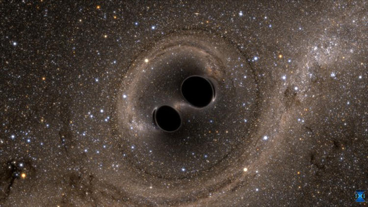 Scientists spot gravitational waves