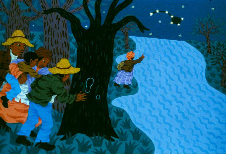 learn how slaves used the night sky to reach freedom in
