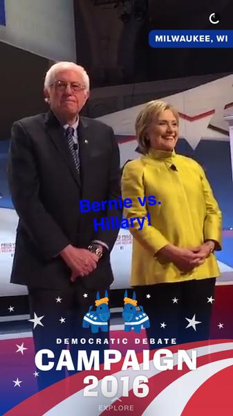 (Via Snapchat)
