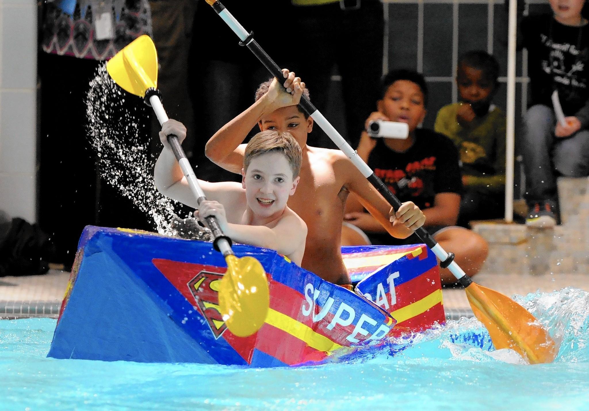 Baker boat race generates water-worthy science fun