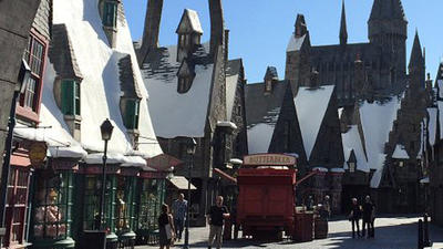 Hey, Harry Potter fans, here's an exclusive sneak peek at Universal's Wizarding World
