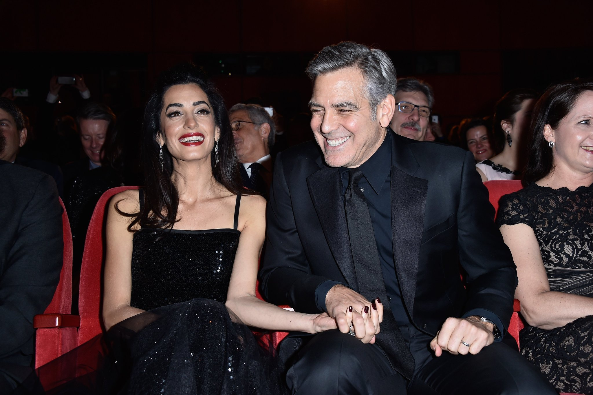 Amal gives birth to twins Alexander and Ella