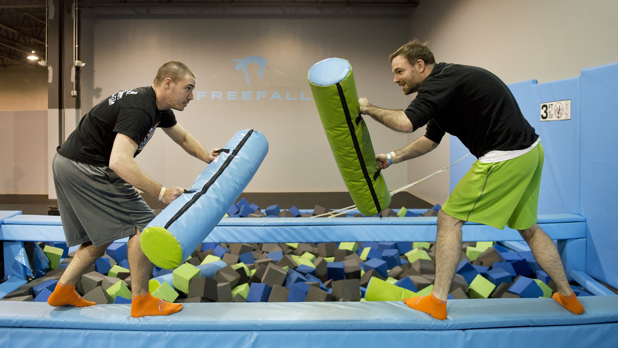 freefall trampoline park the morning call. Black Bedroom Furniture Sets. Home Design Ideas