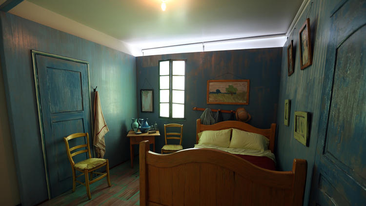 Inside Van Gogh's newest bedroom