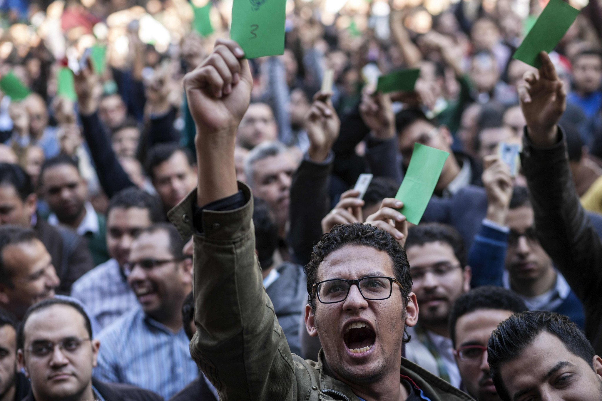 Egypt doctors rally against police assaults
