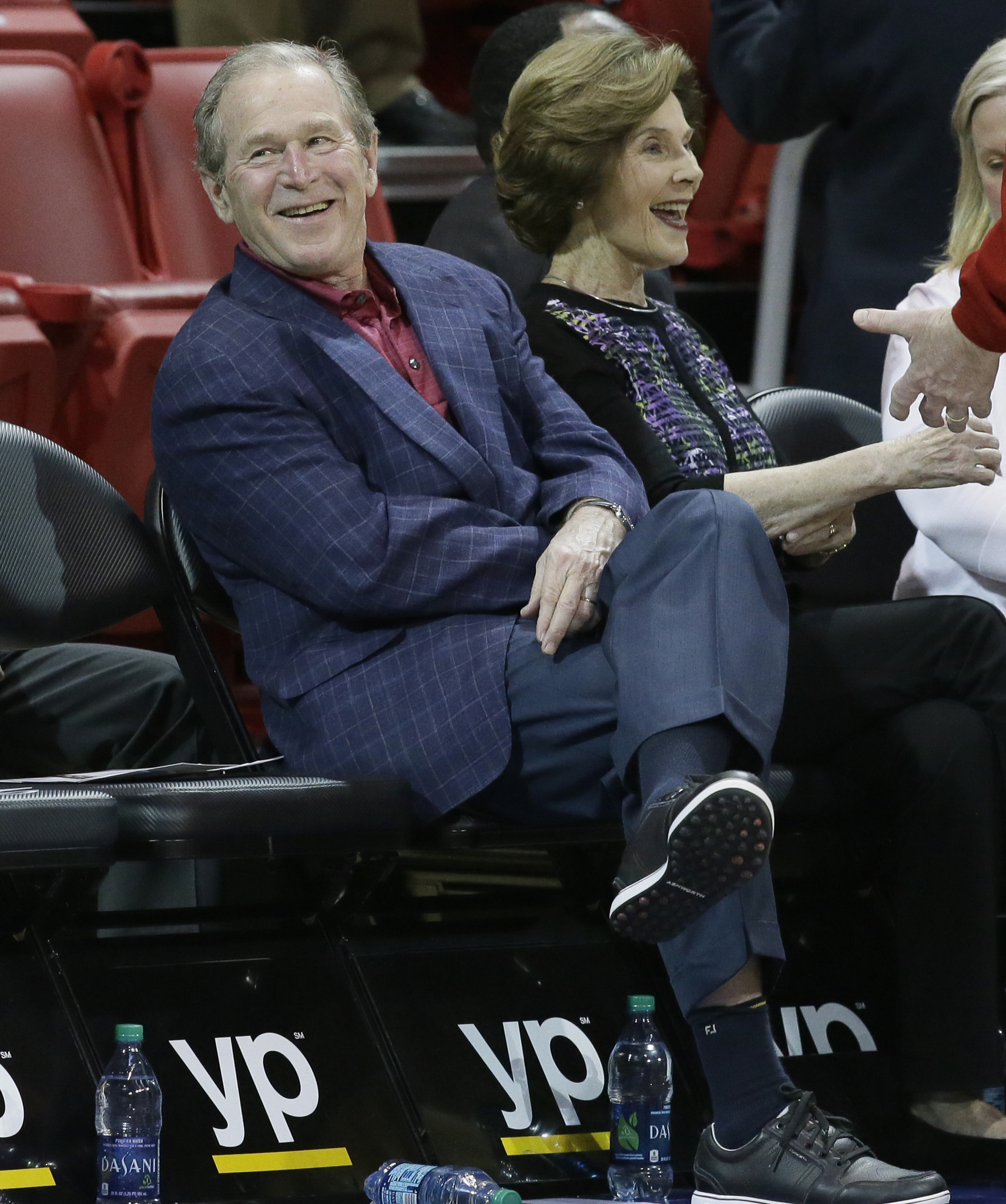 george w bush taken aback by trump s rise to stump with jeb