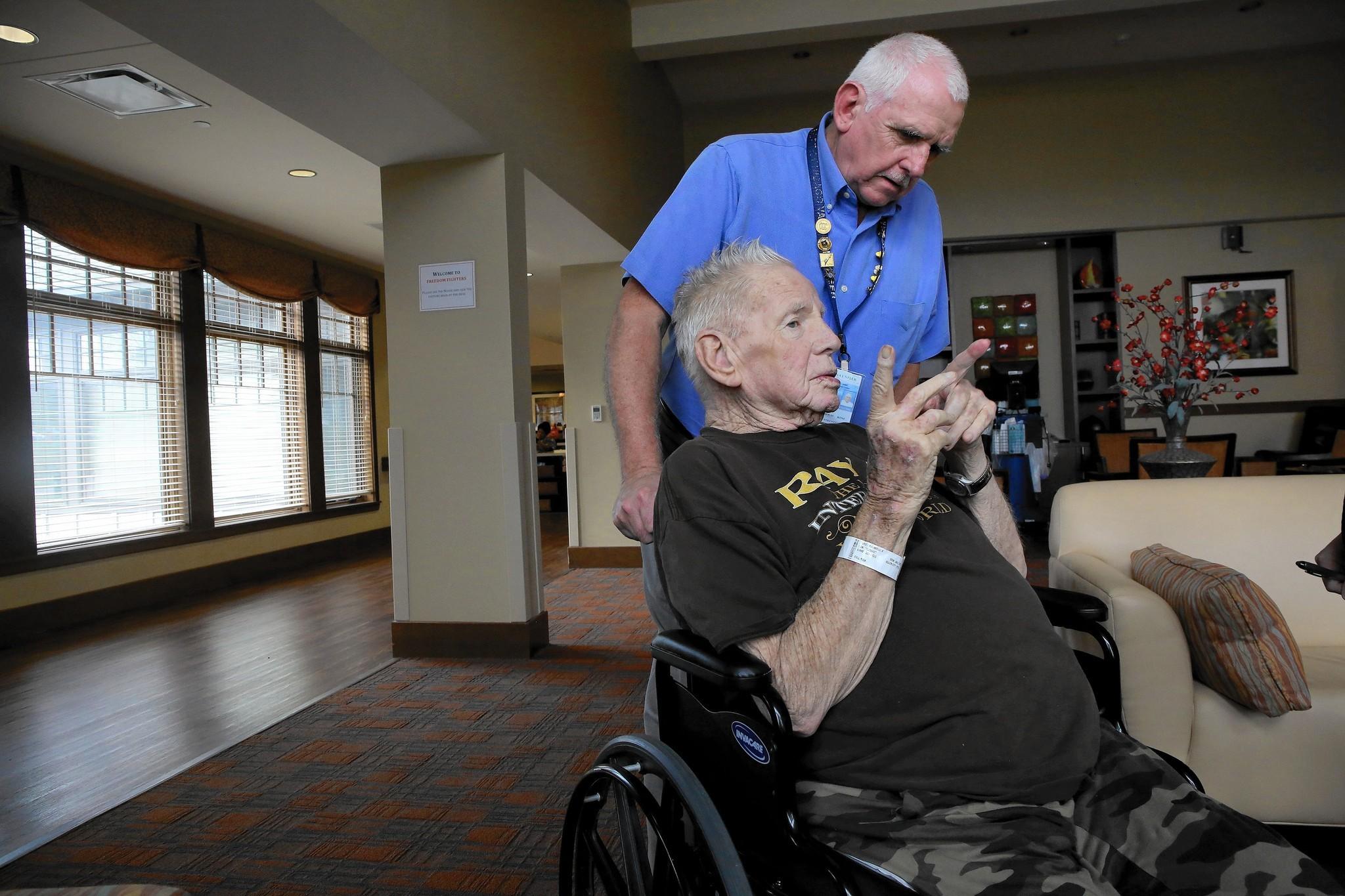 Veterans Affairs program works to ensure that no vet dies alone