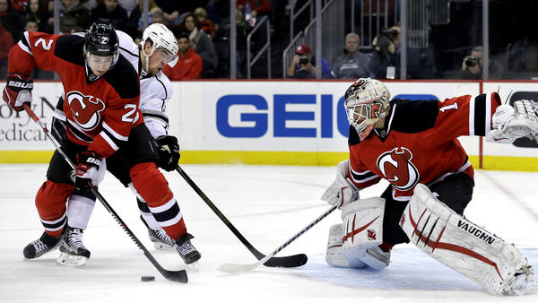 Kings Are Shut Out By New Jersey Devils And Keith Kinkaid, 1-0