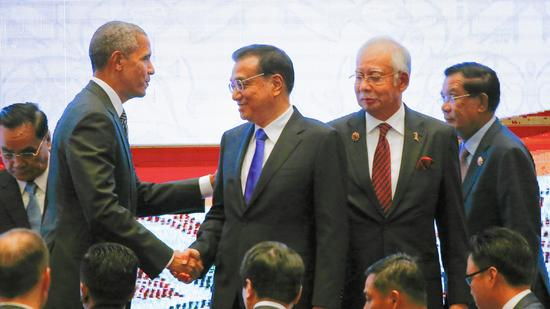 President Obama at 2015 ASEAN conference in Malaysia