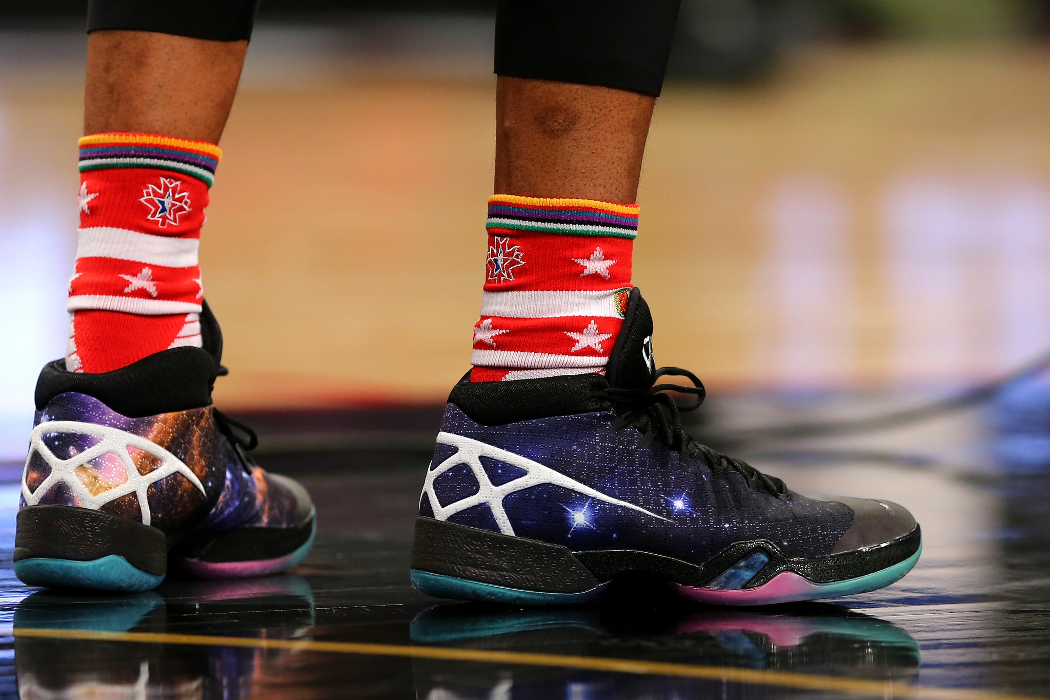 At NBA All-Star weekend, it's all about specially designed shoes
