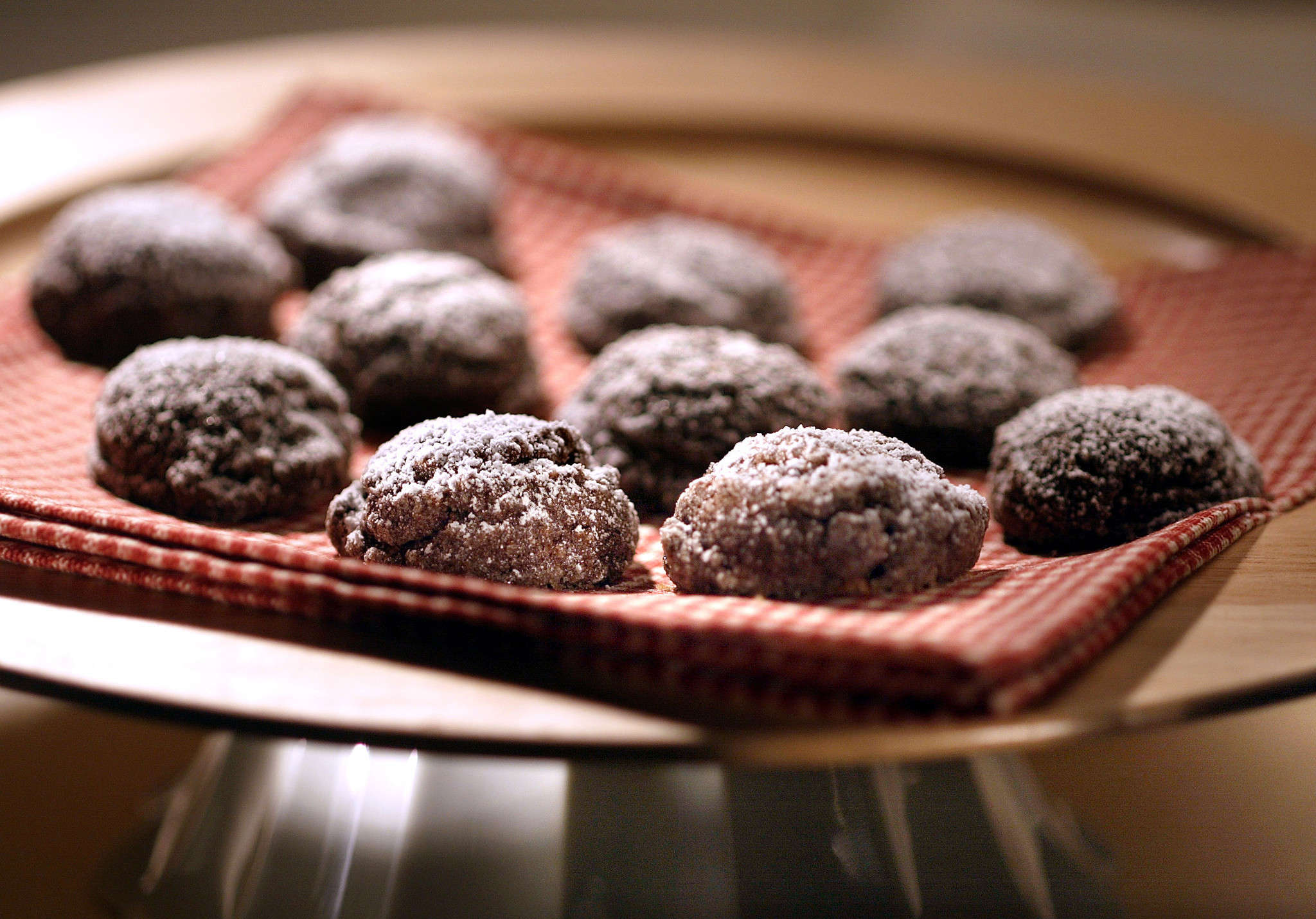 These chocolate sparkle cookies will make you happy