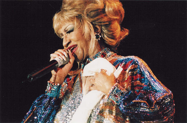 Grammy lifetime achievement winner Celia Cruz. (Celia Cruz Foundation)